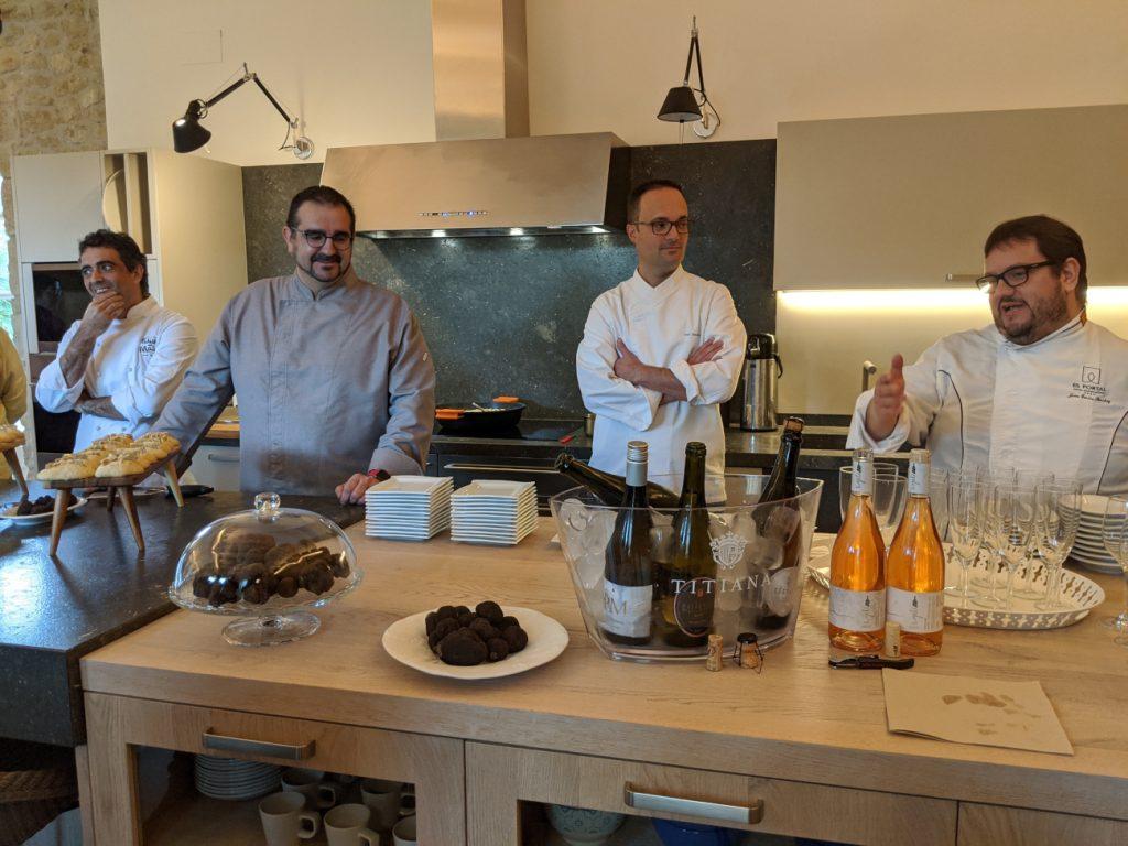 Presentació de les VII Jornades Gastronòmiques de la Tòfona a Pals al mas Jofre