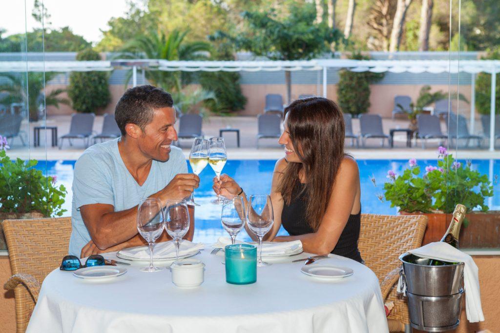 Sant Valentí al Sa Punta? Sopar romàntic i nit al nostre hotel.