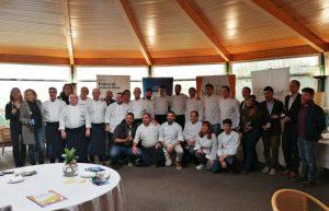 Presentació de la campanya gastronòmica Sopars Maridats en la que Hotel Sa Punta Restaurant fa el sopar amb Bodegas Trobat, amb els companys de Cuina de l'Empordanet, la Cuina del Vent i la DO Empordà.